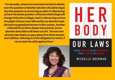 Professor Michelle Oberman's book,