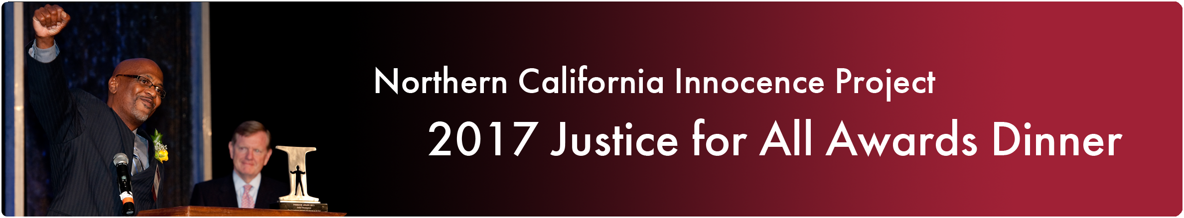 2017 Justice For All Banner