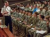 Gen Perkins, ROTC cadets