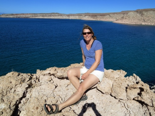 Virginia on Isla Espiritu Santo in Baja California