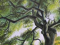 Melancholic painting by Ben Chiaramonte
