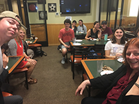 Pizza with Profs History 2018