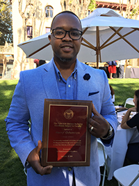 Harry Odamtten 2018 Jimenez Award
