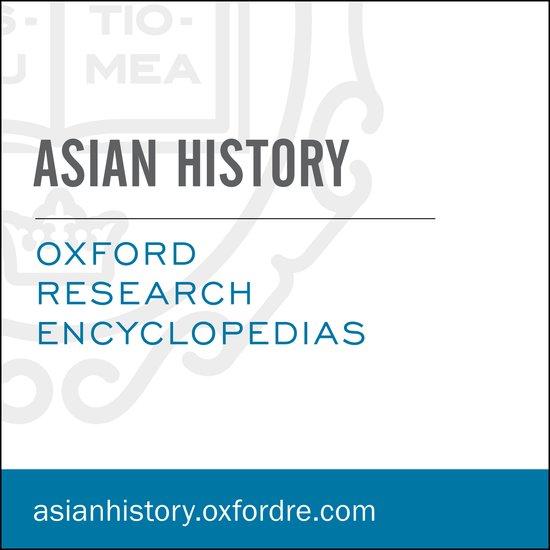 Barbara Molony Asian History book cover