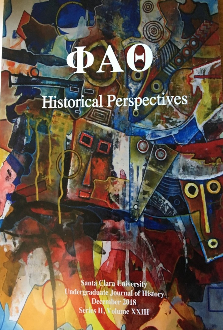 2019 Historical Perspectives cover