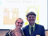 Kaitlin Wheeler '19 and David Gray, Religious Studies
