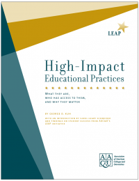 High Impact Educational Practices cover