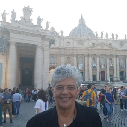 Sister Ana Maria Pineda in Rome